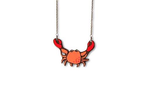 Materia Rica Materia Rica - ketting seaside - mr. Crab