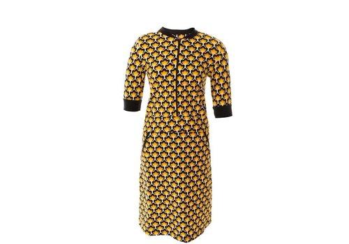 Mooi Vrolijk Mooi Vrolijk - dress zipper - retro design