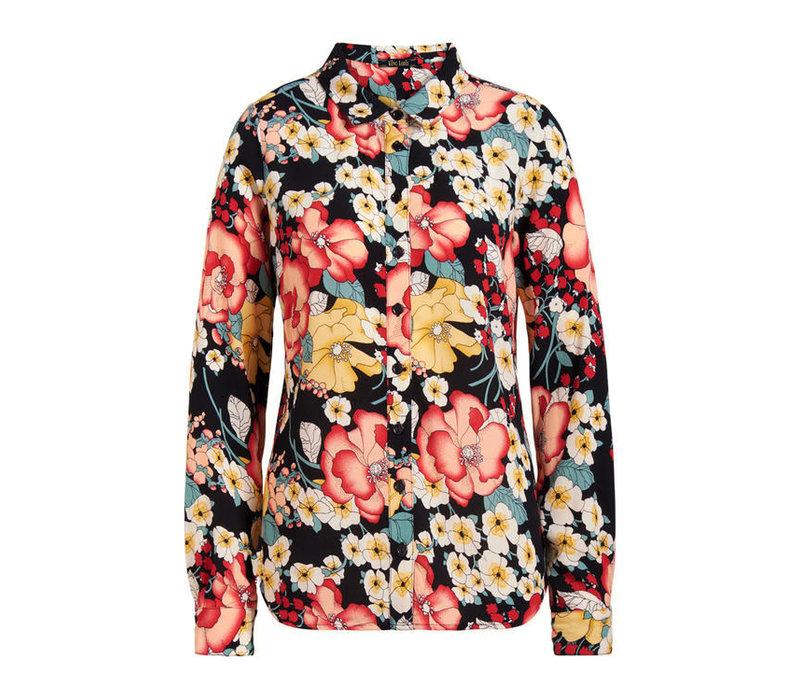 King louie - rosie blouse carioca - black