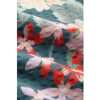 King louie - fifi button skirt st kitt - harbor blue