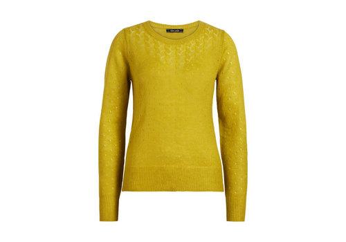 King Louie King louie - yoke top fluffy - cress yellow
