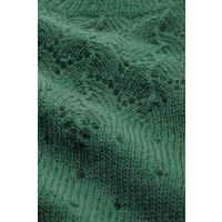 King louie - yoke top fluffy - fir green