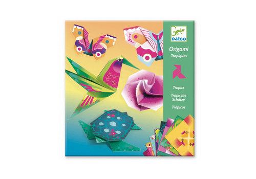 Djeco Djeco - origami - tropisch