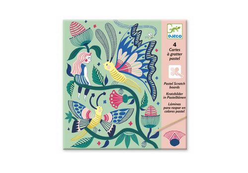Djeco Djeco - kraskaarten - fantastische tuin