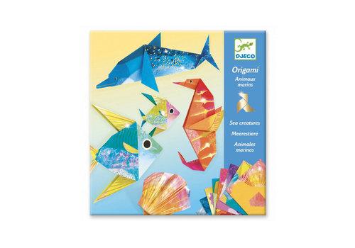 Djeco Djeco - origami - zeedieren