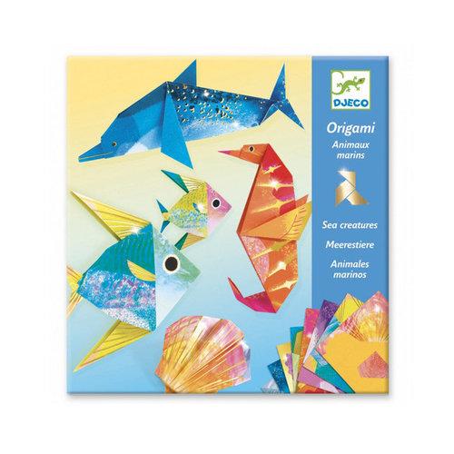 Djeco - origami - zeedieren