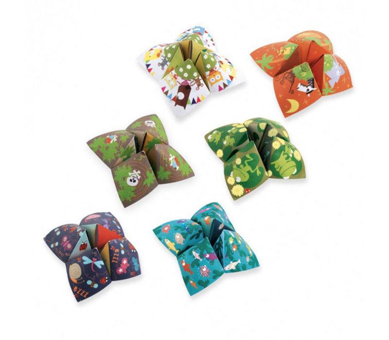 Djeco - origami - happertjes