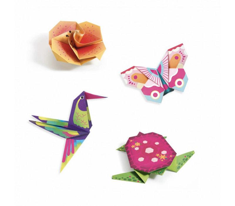 Djeco - origami - tropisch