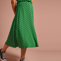 King louie - juno skirt pablo - very green