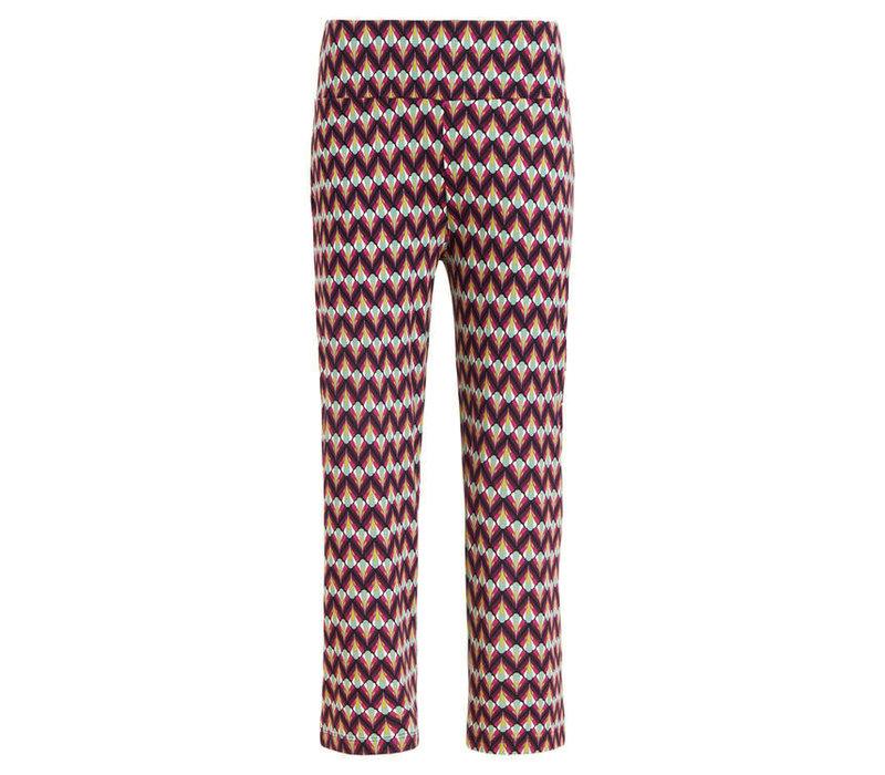 King louie - border pants namaste - vivid purple