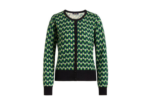 King Louie King louie - cardi roundneck namaste - very green
