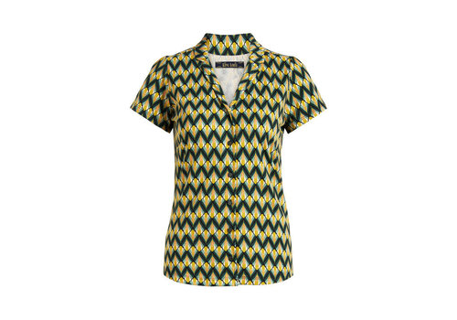 King Louie King louie - patty blouse namaste - spar green