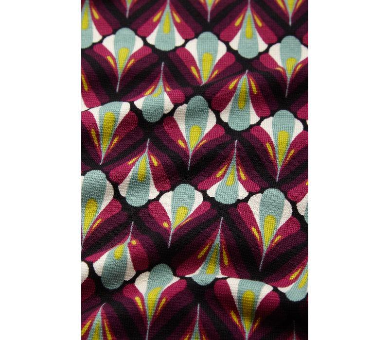 King louie - patty blouse namaste - vivid purple