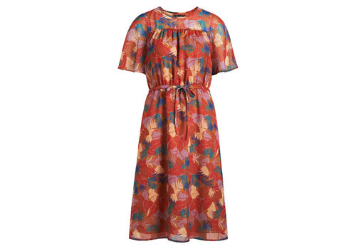 King Louie King louie - pia dress amuse voile - toffee brown