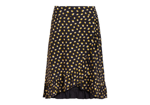 King Louie King louie - ruffle skirt petal - black