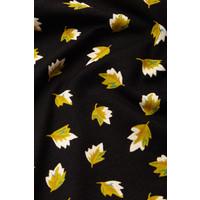 King louie - emmy dress petal - black