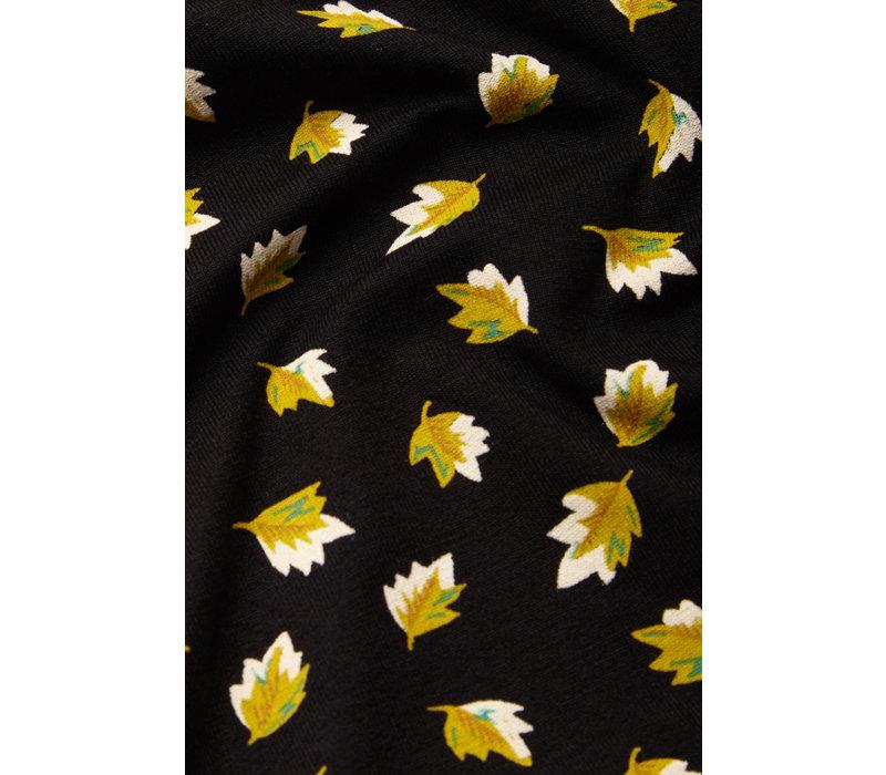 King louie - rosie jumpsuit petal - black