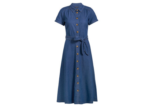 King Louie King louie - olive dress chambray - river blue