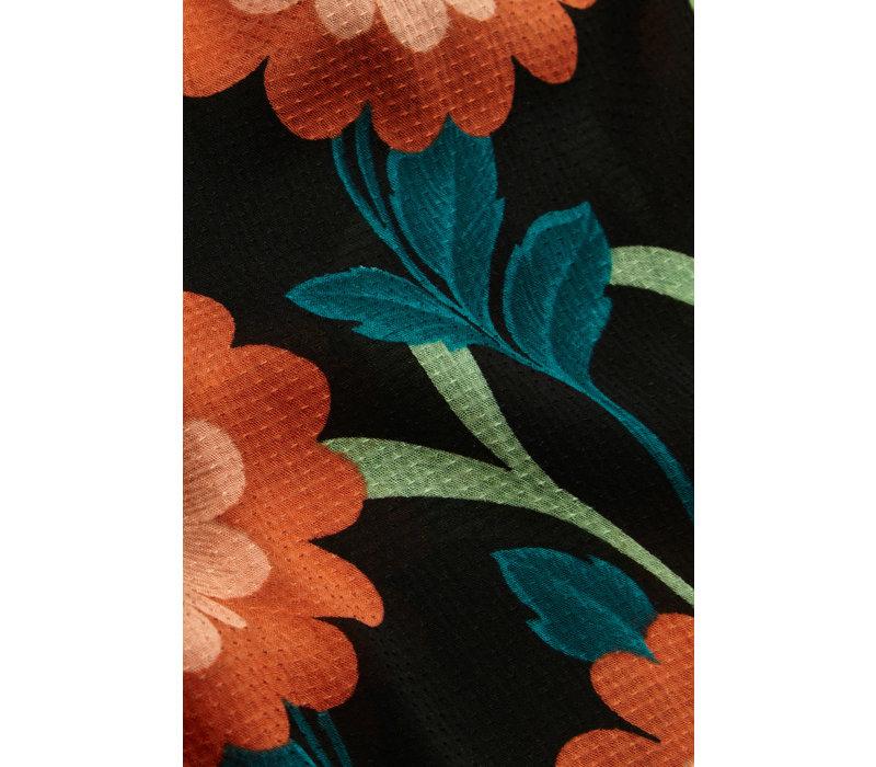 King louie - allison maxi dress arancino - black