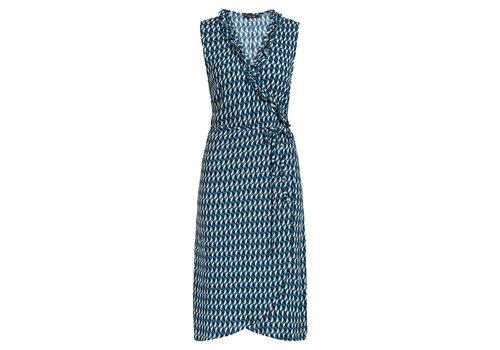 King Louie King louie - abby dress papillon - bay blue