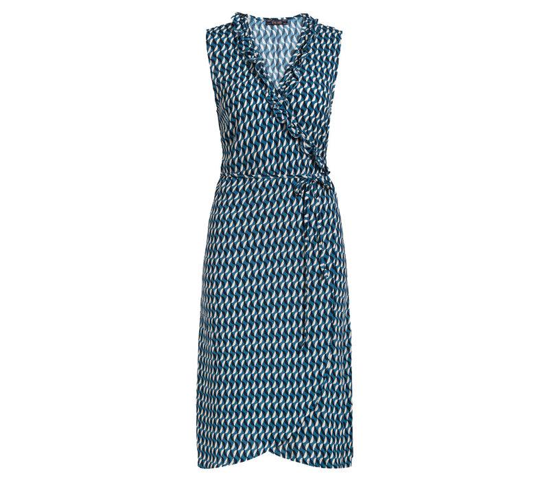 King louie - abby dress papillon - bay blue