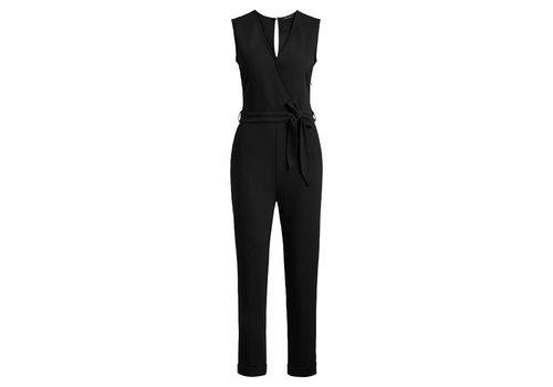 King Louie King louie - dora jumpsuit woven crepe - black