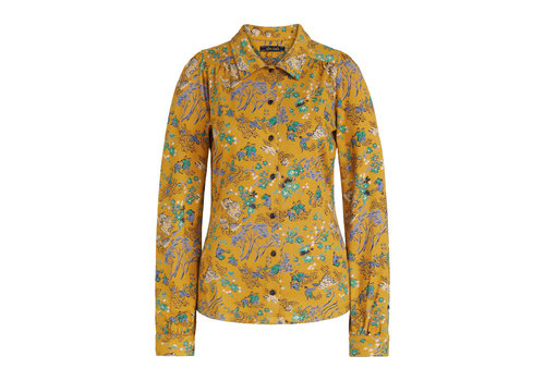 King Louie King louie - blouse bonsai - spice yellow