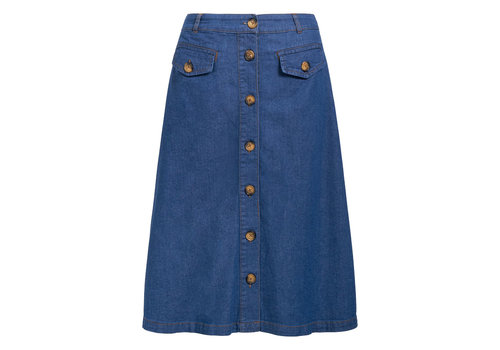 King Louie King louie - caroll skirt chambray - river blue