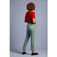 King louie - joni pants slub sweat - fir green