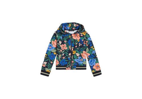 Petit Louie Petit louie - hoodie jacket belize - night sky blue
