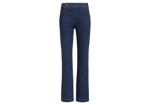 King Louie King louie - sailor pants organic denim - blue