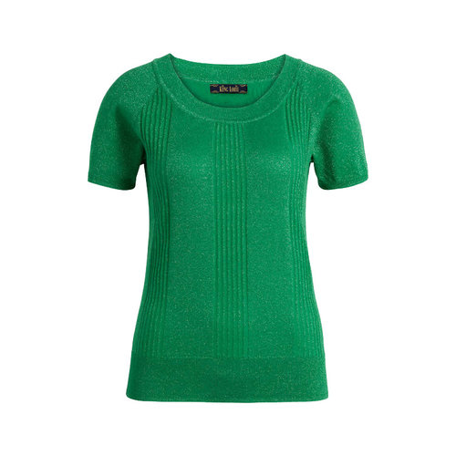 King louie - boatneck top lapis - very green