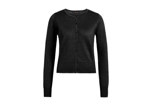 King Louie King louie - cardi roundneck organic lapis  - black