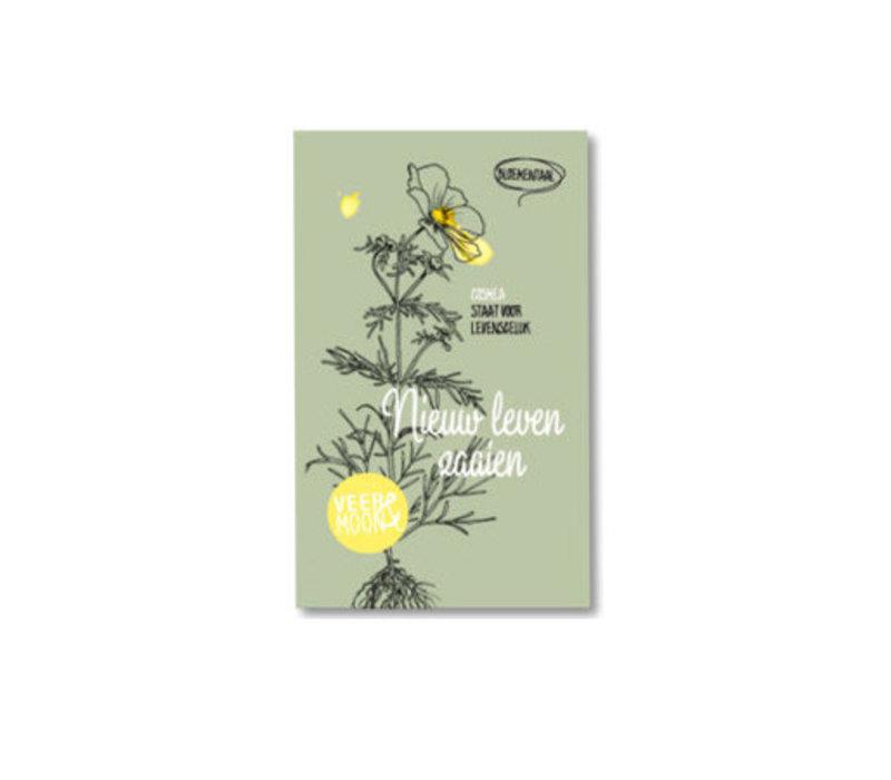 Veer & Moon - bloemzaadjes - nieuw leven zaaien