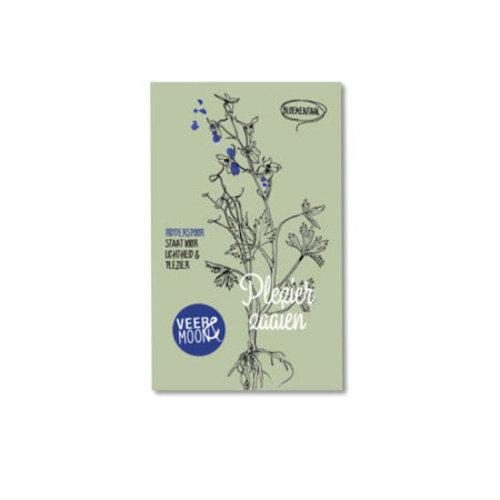 Veer & Moon - bloemzaadjes - plezier zaaien