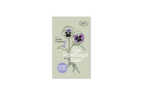 Veer & Moon Veer & Moon - bloemzaadjes - fijne herinneringen zaaien