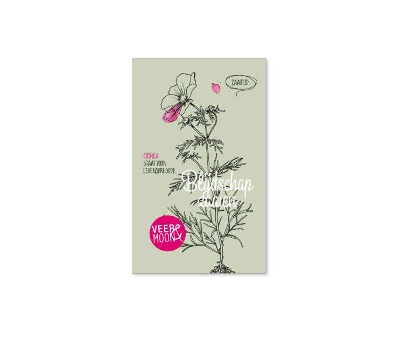 Veer & Moon - bloemzaadjes - blijdschap zaaien