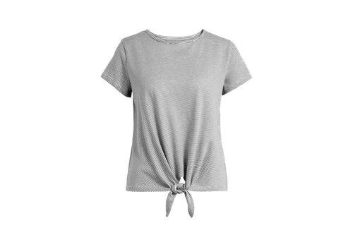 King Louie King louie - knot t-shirt babylon stripe - black