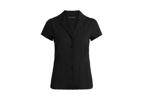 King Louie King louie - patty blouse cotton lycra light - black