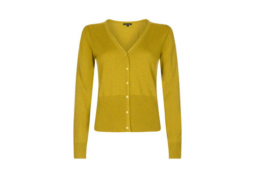 King Louie King louie - cardi v cocoon - spring yellow