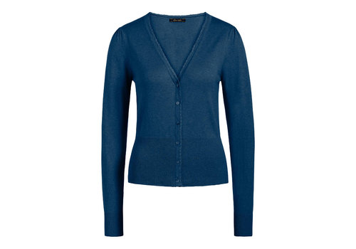 King Louie King louie - cardi v cocoon - tile blue