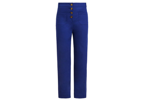 King Louie King louie - high waisted pocket pants sturdy - dazzling blue