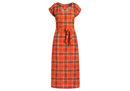 King Louie King louie - vera dress loose fit sinclair - spicy orange