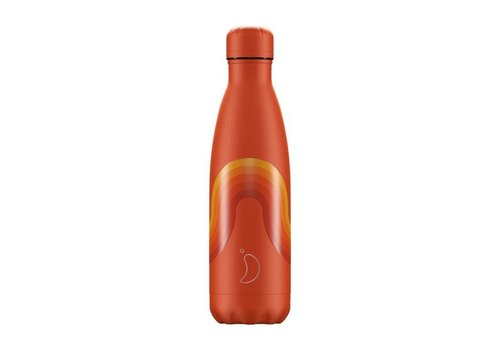 Chillys Chillys - thermosfles 500ml - orange wave