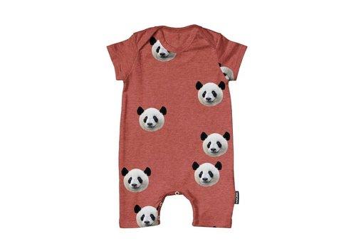 Snurk Snurk - playsuit babies - lazy panda