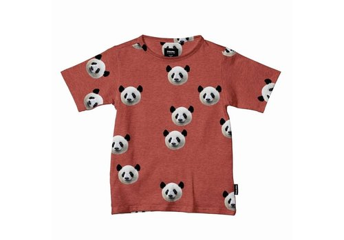 Snurk Snurk - t-shirt kids - lazy panda