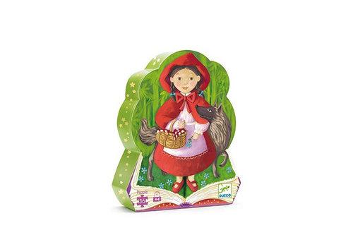 Djeco Djeco - puzzel - roodkapje (36 stukjes)