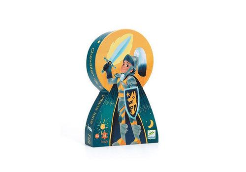 Djeco Djeco - puzzel - ridder en volle maan (36 stukjes)