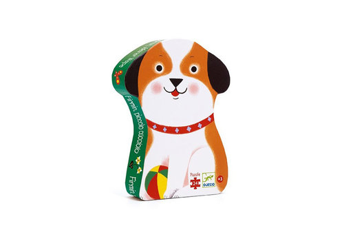Djeco Djeco - puzzel - klein hondje (24 stukjes)