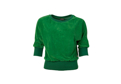 Froy & Dind Froy & dind - sweater sybille - velour green